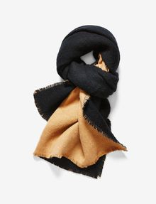 ARMANI EXCHANGE BICOLOR OVERSIZED SCARF Scarf Woman f