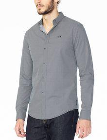 armani exchange long sleeve shirt