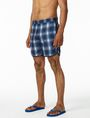 ARMANI EXCHANGE DIGITAL PLAID SWIM TRUNK Swim Man d