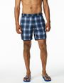 ARMANI EXCHANGE DIGITAL PLAID SWIM TRUNK Swim Man e