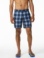 ARMANI EXCHANGE DIGITAL PLAID SWIM TRUNK Swim Man f
