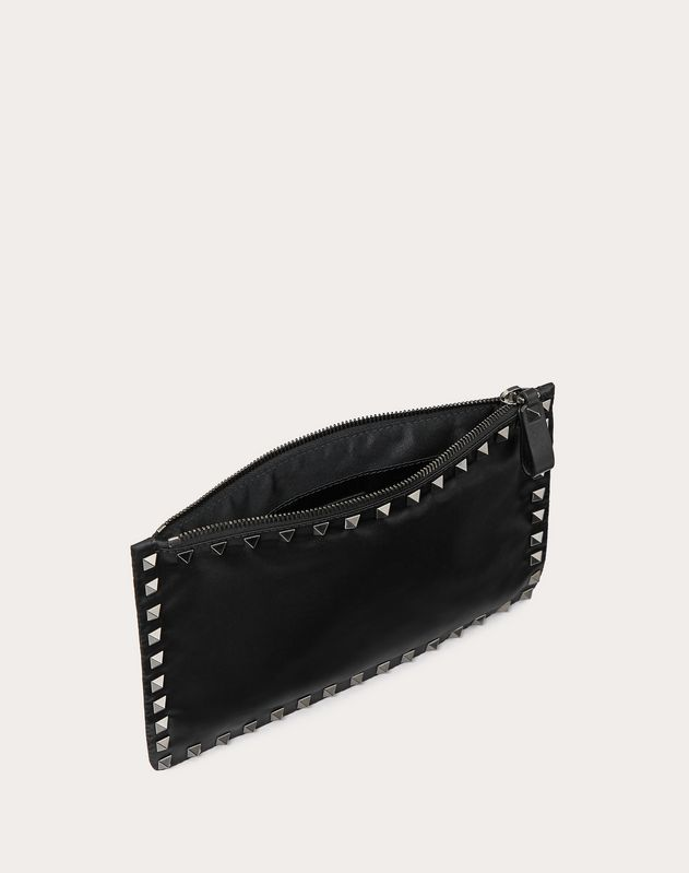 Medium Rockstud Zip Pouch