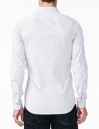 ARMANI EXCHANGE SLIM STRETCH SNAP SHIRT Man retro