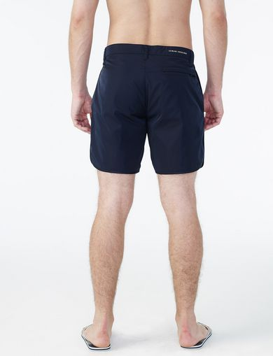 ARMANI EXCHANGE A|X MINIMAL SWIM TRUNK Man retro