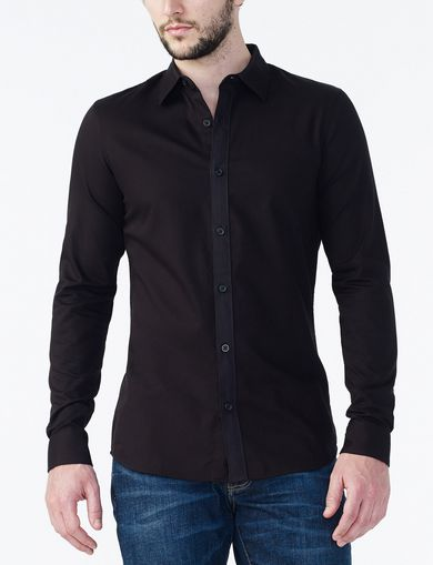NON IRON SLIM DRESS SHIRT