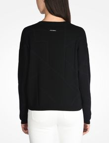 ARMANI EXCHANGE KNIT GRAPHIC DETAIL SWEATER Pullover D r