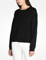 ARMANI EXCHANGE KNIT GRAPHIC DETAIL SWEATER Pullover Woman d
