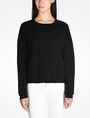 ARMANI EXCHANGE KNIT GRAPHIC DETAIL SWEATER Pullover Woman f