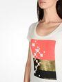 ARMANI EXCHANGE FOIL GRAPHIC TEE Non-logo Tee Woman e