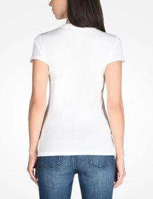 ARMANI EXCHANGE FOIL LOGO TEE Logo T-shirt Woman r