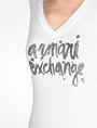 ARMANI EXCHANGE FOIL LOGO TEE Logo T-shirt Woman e