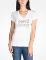 ARMANI EXCHANGE FOIL LOGO TEE Logo T-shirt Woman f