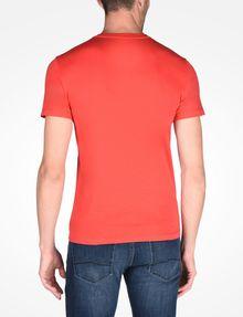 ARMANI EXCHANGE ARMANI EXCHANGE V-NECK T-SHIRT Logo T-shirt Man r