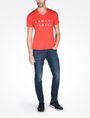ARMANI EXCHANGE ARMANI EXCHANGE V-NECK T-SHIRT Logo T-shirt Man a