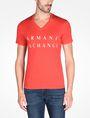 ARMANI EXCHANGE ARMANI EXCHANGE V-NECK T-SHIRT Logo T-shirt Man f