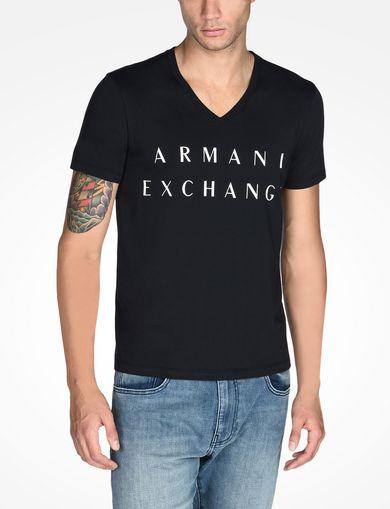 ARMANI EXCHANGE V-NECK T-SHIRT