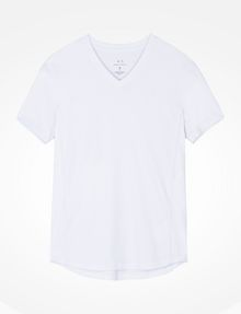 ARMANI EXCHANGE SIGNATURE V-NECK T-SHIRT S/S Knit Top Man b