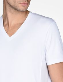 ARMANI EXCHANGE SIGNATURE V-NECK T-SHIRT S/S Knit Top Man e