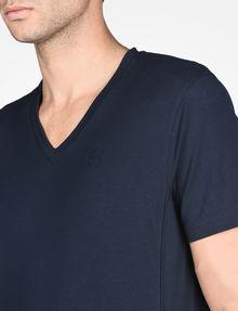 ARMANI EXCHANGE SIGNATURE V-NECK T-SHIRT S/S Knit Top Man e