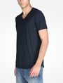 ARMANI EXCHANGE SIGNATURE V-NECK T-SHIRT S/S Knit Top Man d