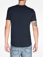 ARMANI EXCHANGE SIGNATURE V-NECK T-SHIRT S/S Knit Top Man r