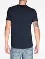ARMANI EXCHANGE SIGNATURE V-NECK T-SHIRT S/S Knit Top Man r