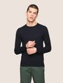 ARMANI EXCHANGE COTTON CASHMERE CREWNECK SWEATER Crew Neck Man f