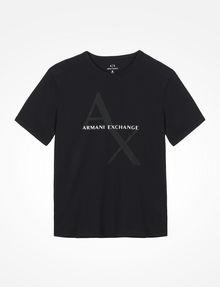 ARMANI EXCHANGE AX BOX LOGO T-SHIRT Logo T-shirt Man b