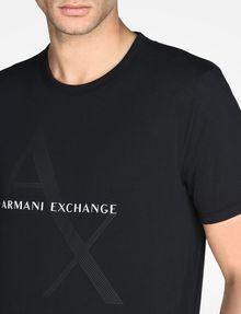 ARMANI EXCHANGE AX BOX LOGO T-SHIRT Logo T-shirt Man e