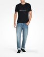 ARMANI EXCHANGE AX BOX LOGO T-SHIRT Logo T-shirt Man a