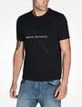 ARMANI EXCHANGE AX BOX LOGO T-SHIRT Logo T-shirt Man d