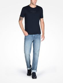 ARMANI EXCHANGE AX ICON CREWNECK T-SHIRT Logo T-shirt Man a
