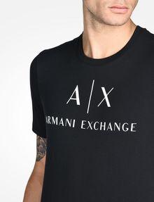ARMANI EXCHANGE CLASSIC LOGO CREWNECK TEE Logo T-shirt Man e