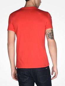 ARMANI EXCHANGE AX CREWNECK T-SHIRT Logo T-shirt Man r