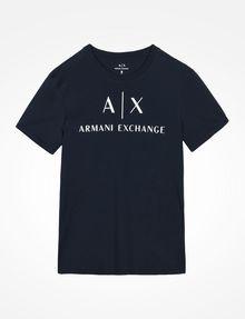 ARMANI EXCHANGE AX CREWNECK T-SHIRT Logo T-shirt Man b