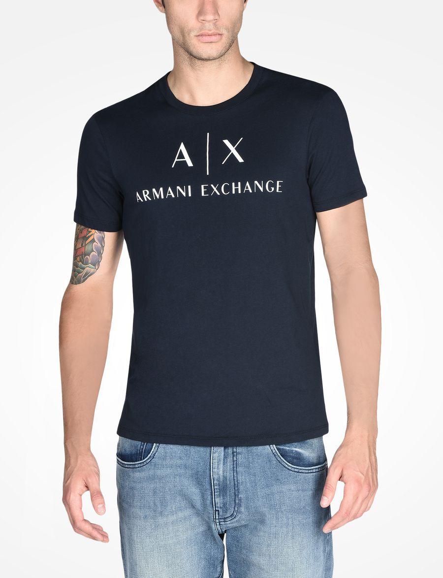 Armani Exchange AX CREWNECK T SHIRT  7d7c3f56d5