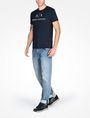 ARMANI EXCHANGE AX CREWNECK T-SHIRT Logo T-shirt Man a