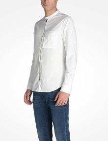 ARMANI EXCHANGE ZIP FRONT BANDED COLLAR SHIRT Long sleeve shirt U d