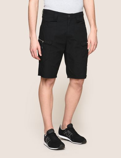 SIDE-ZIP CARGO SHORT