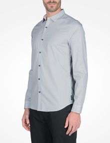 ARMANI EXCHANGE SLIM FIT STRIPED SHIRT Langärmeliges Hemd Herren d