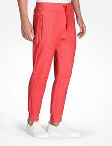ARMANI EXCHANGE REFLECTIVE LOGO PANTS Fleece Pant Man d