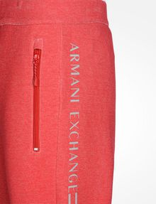 ARMANI EXCHANGE REFLECTIVE LOGO PANTS Fleece Pant Man e