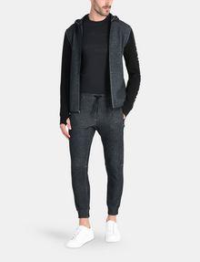 ARMANI EXCHANGE REFLECTIVE LOGO PANTS Fleece Pant Man a