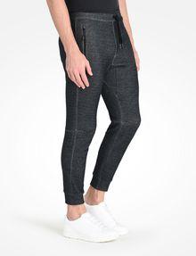 ARMANI EXCHANGE REFLECTIVE LOGO PANTS Fleece Pant [*** pickupInStoreShippingNotGuaranteed_info ***] d