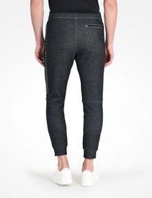 ARMANI EXCHANGE REFLECTIVE LOGO PANTS Fleece Pant Man r