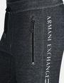 ARMANI EXCHANGE REFLECTIVE LOGO PANTS Fleece Pant Man e