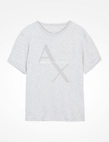 ARMANI EXCHANGE AX BOX LOGO T-SHIRT Logo T-shirt Man b