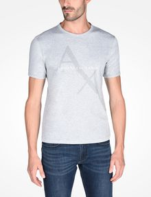 ARMANI EXCHANGE AX BOX LOGO T-SHIRT Logo T-shirt Man f
