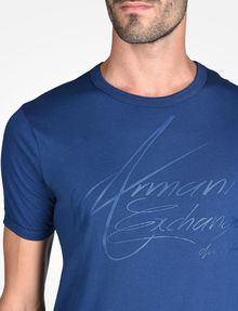 ARMANI EXCHANGE Logo-T-Shirt [*** pickupInStoreShippingNotGuaranteed_info ***] e