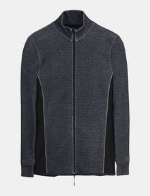 ARMANI EXCHANGE REFLECTIVE LOGO MOCKNECK JACKET Fleece-Jacke Herren b